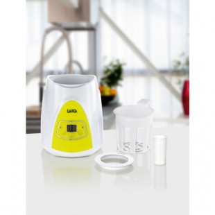 LAICA Baby Line Flaschen/- Babykostwärmer BC1004 White/ Lemon