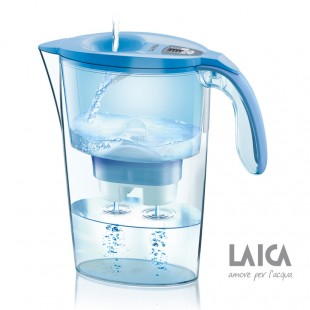 LAICA Wasserfilter Colour Edition Serie 3000 Steam Line J434H Blue