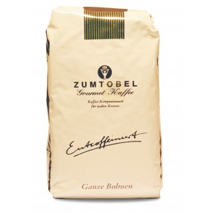 Zumtobel Gourmet Kaffee Entkoffeiniert Ganze Bohne 500g