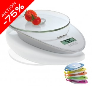 LAICA Küchenwaage Compact KS1005 White