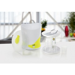 LAICA Baby Line Dampfsterilisator 6 Flaschen BC1005 White / Lemon