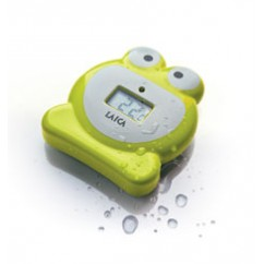 LAICA Baby Line Bade/- Schwimm Thermometer TH4007 Frosch