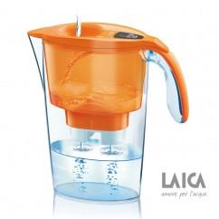 LAICA Wasserfilter Colour Edition Serie 3000 Stream LineJ433H Orange