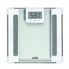 LAICA Personenwaage PS5010 Body Compostition Glas/ White