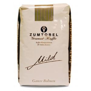 Zumtobel Gourmet Kaffee Mild Ganze Bohnen 500g