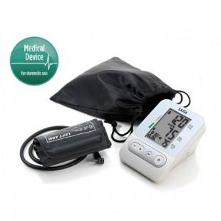 LAICA Blutdruckmesser Oberarm BM2301 Weiß/ Silber
