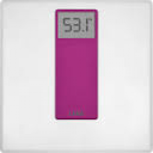 LAICA Personenwaage PS1045 Digital White/Fuchsia