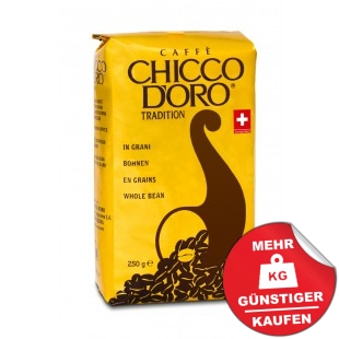 Chicco d´Oro Tradition 250g Ganze Bohne
