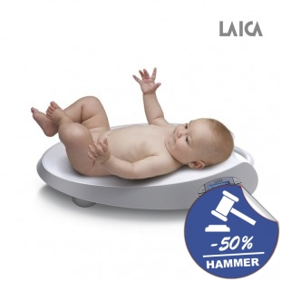 LAICA Baby Line Babywaage PS3003 Alu Finish