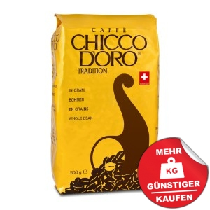 Chicco d´Oro Tradition 500g Bohnen