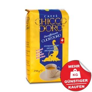 Chicco d'Oro Cuor d´Oro entkoffiniert 250g Bohnen