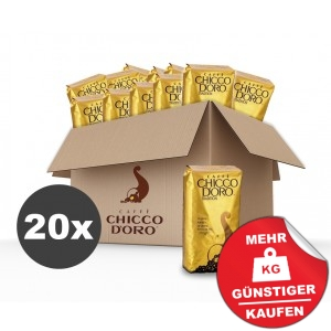 Chicco d´Oro Vorteilskarton Tradition Bohnen 20x250g (5kg)