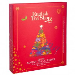 Adventkalender-Tee Buch rot