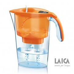 LAICA Wasserfilter Colour Edition Serie 3000 Stream LineJ433H Orange