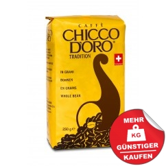 Chicco d´Oro Tradition 250g Ganze Bohne