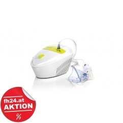 LAICA Baby Line Ultraschall Inhalator NE2010 White/ Lemon
