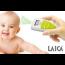 LAICA Baby Line Fieberthermometer Berührungsfrei TH1001 White/ Lemon